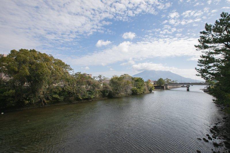 甲突川(高麗橋付近)
