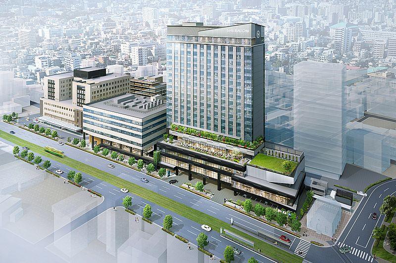 都市機能集約型施設「キラメキテラス」